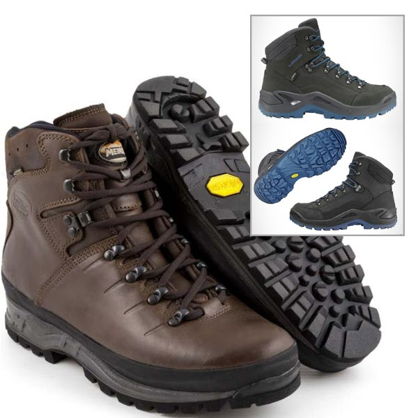 Hiking & Walking Boots - Re-soles and Sole Repair